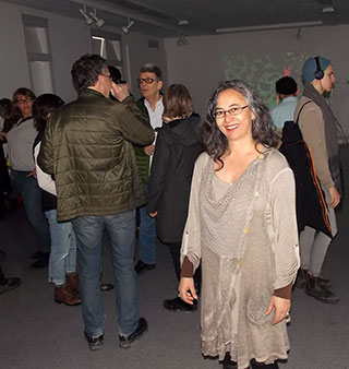 The 2016 Cold Cuts Festival was curated by Corinna Ghaznavi (foreground).
