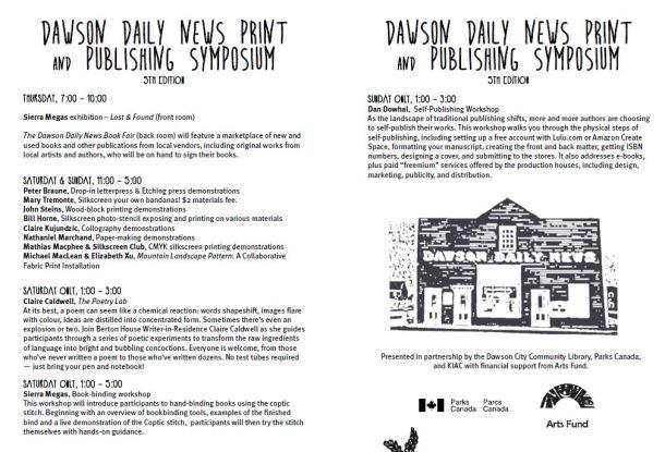 print symposium schedule